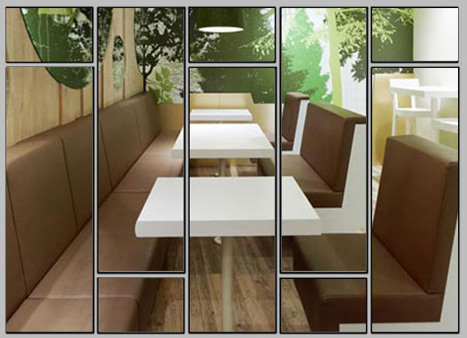 Interior Design In Your Restaurant Really Depends On The Color Of Your  Paint As Well As Your Wall Coverings. Simple Ways To Spice Up A Restaurant  Will Be ...